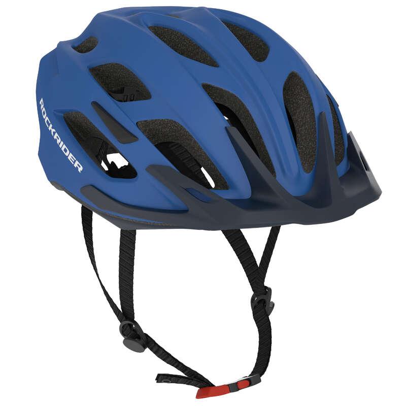CĂȘTI MTB DRUMEȚIE ADULT Ciclism - Cască MTB ST 500 Albastru  ROCKRIDER - Accesorii ciclism