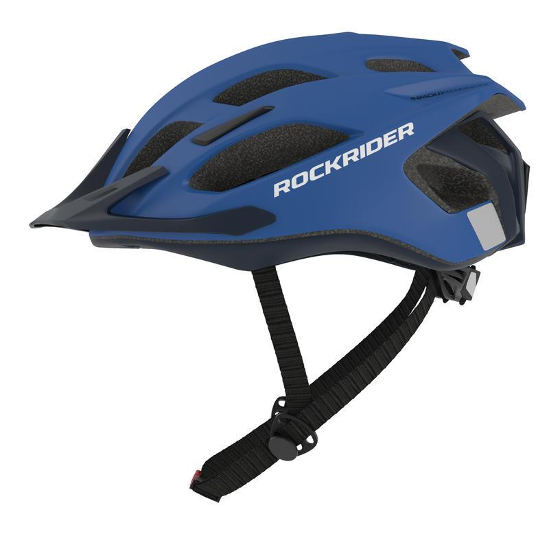 หมวกกันน็อคจักรยานเสือภูเขารุ่น ST 500 (สีน้ำเงิน)
