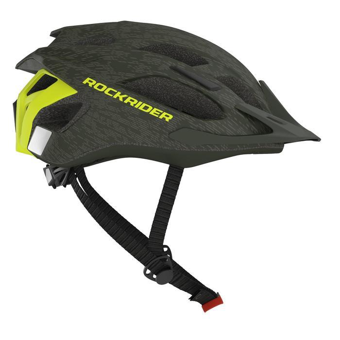登山車安全帽ST 500 - 綠色