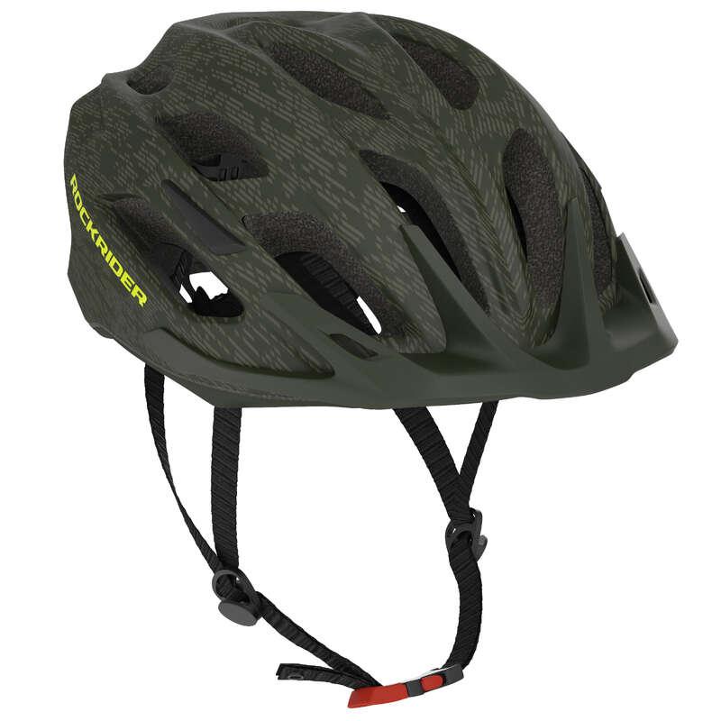 CASCHI MTB ST UOMO Ciclismo, Bici - Casco mtb ST 500 verde ROCKRIDER - ABBIGLIAMENTO MTB UOMO AM