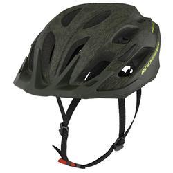 Fahrradhelm MTB ST 500 grün