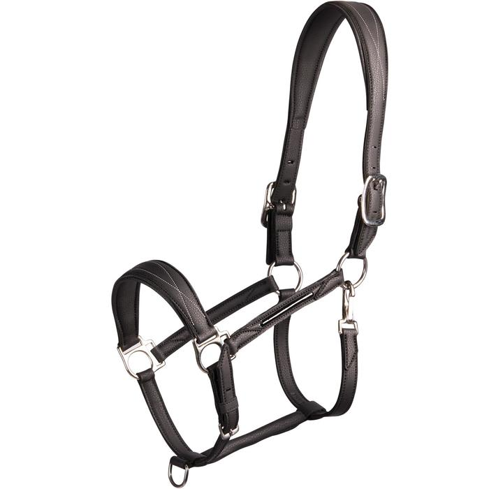 Halster voor paard en pony 500 zwart