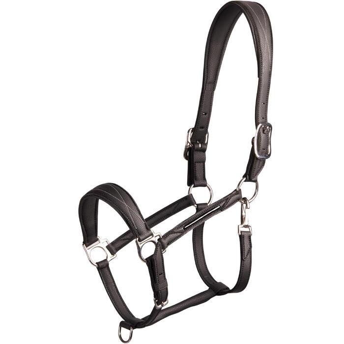 Licol équitation cheval et poney 500 noir