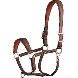 Cabeção de Equitação 500 Castanho - Pónei/Cavalo