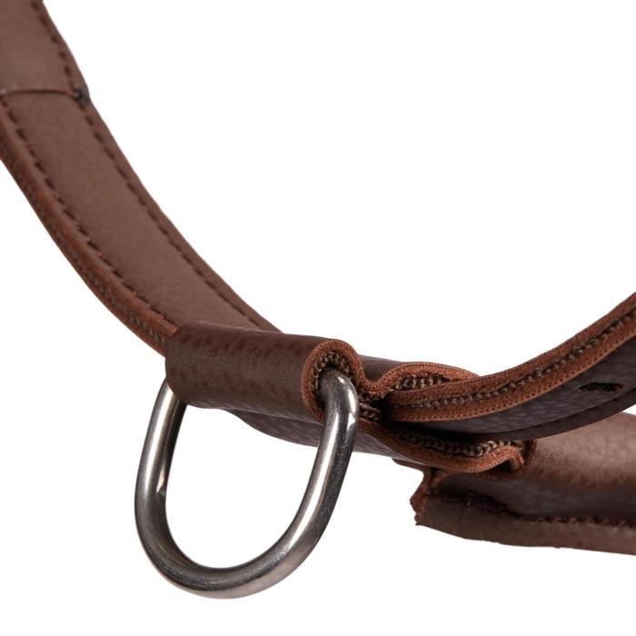 Licol équitation cheval et poney 500 marron