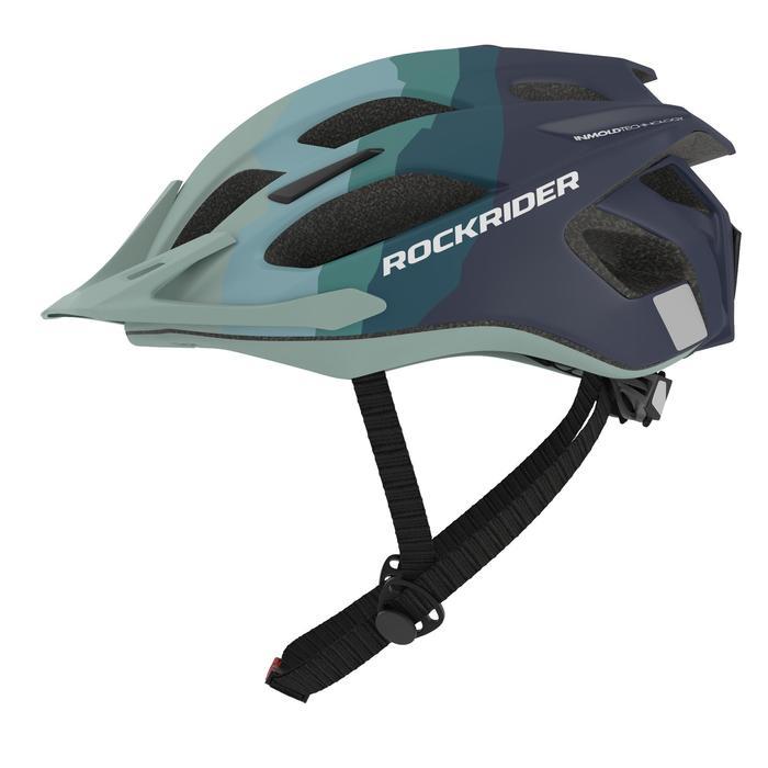 MTB-helm ST 500 blauw groen