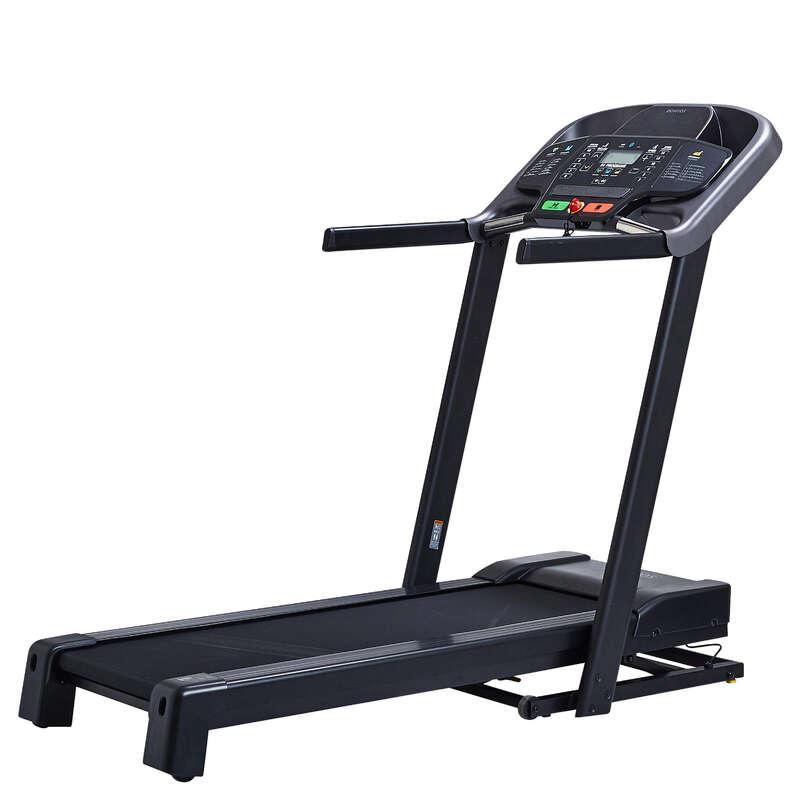 FITNESZ FUTÓ- ÉS GYALOGLÓPAD Fitneszgépek - Futópad T540 B DOMYOS - Alakformálás