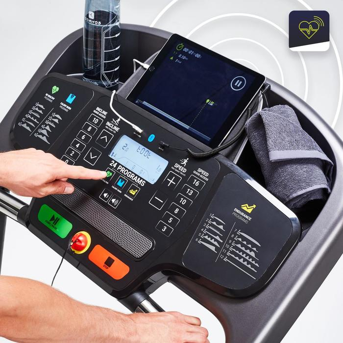 Tapis de course T540B Compatible avec l'application Domyos Econnected