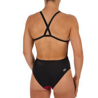 Red and Black Weave Women's One-Piece Lexa XP Swimsuit