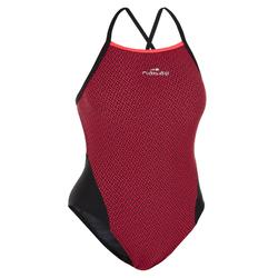 Badeanzug Lexa XP Damen rot/schwarz