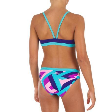 f9c5dee80331 Maillot de natation fille deux pièces Riana STA rose. Previous. Next