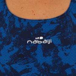 Badeanzug Kamiye Walo Damen chlorresistent blau