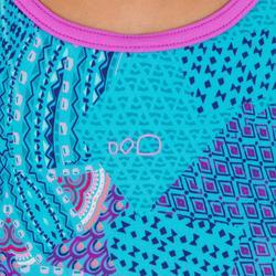 Meisjesbadpak Riana Eve blauw
