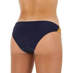 Braga Bikini Natación Piscina Nabaiji Mujer Ultra Resistente Cloro Azul Naranja