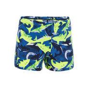 Modre in rumene kopalke boksarice s potiskom morskih psov 500 za dečke