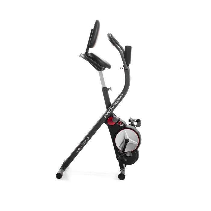 Bicicleta Estática Plegable con Respaldo Proform X Bike Duo