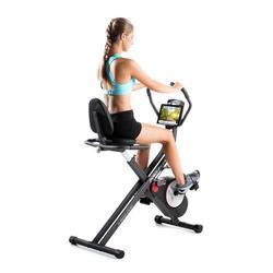 Hometrainer X-Bike Duo, inclusief verstelbare stoel