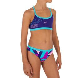 Bikini de natación niña Riana STA rosa
