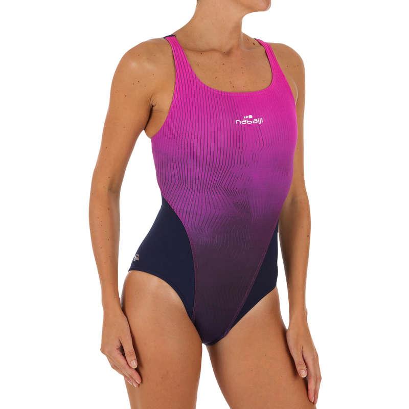 WOMEN'S SWIMSUITS Swimming - KAMIYE 1P SWIMSUIT - GRAD PINK NABAIJI - Swimwear