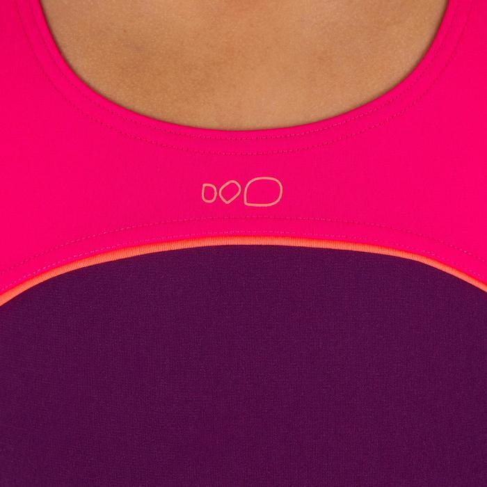 Meisjesbadpak Taïs violet/roze
