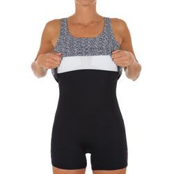 Badeanzug Loran Tankini mit Bein Damen schwarz
