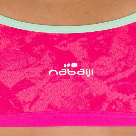 5ab1d1b75f Jade Girl's Extremely Chlorine-Resistant Swimming Top - Walo Pink.  Previous. Next