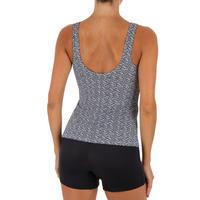 Loran Women's One-Piece Tankini Swimsuit - Mipy Black