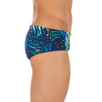 MAILLOT DE BAIN NATATION HOMME BANDEAU 900 ALL JUN MARINE