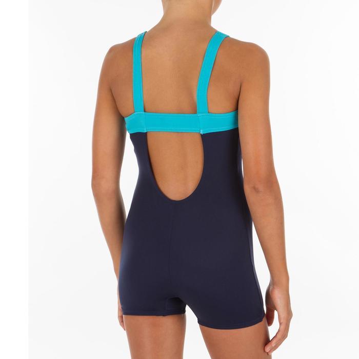 Badeanzug Taïs Shorty Mädchen blau