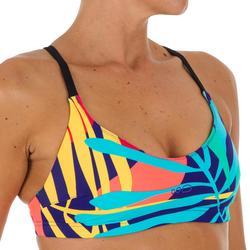 Haut de maillot de bain de natation femme Riana Pie vert