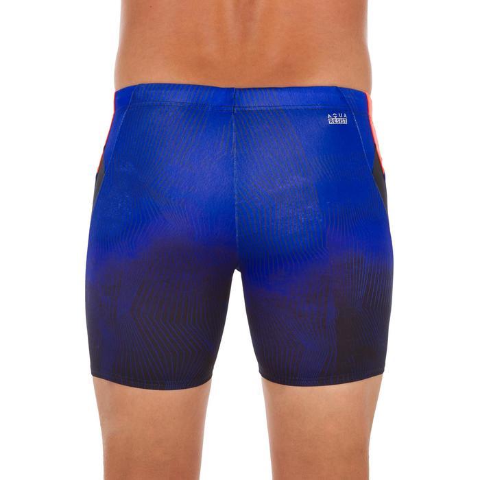 Badehose Boxer Long 500 Grad Herren blau