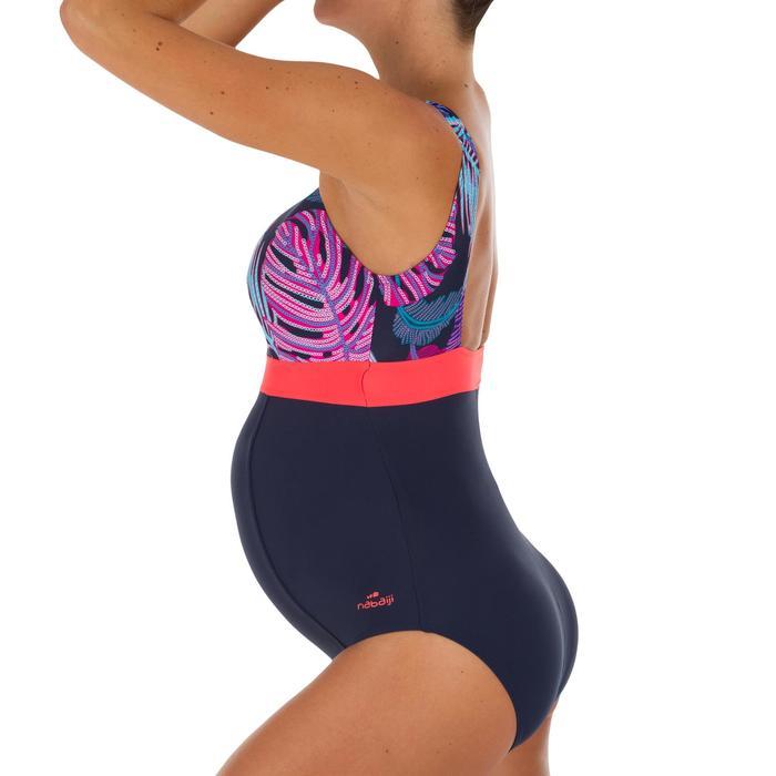Bañador de natación una pieza futura mamá Romane lif azul