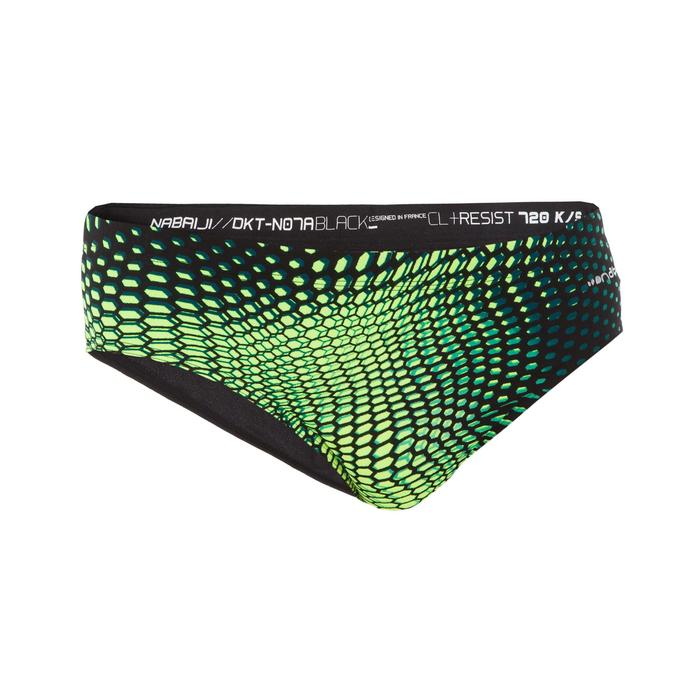900 MEN'S PRINT SWIMMING BRIEFS - GANI, YELLOW
