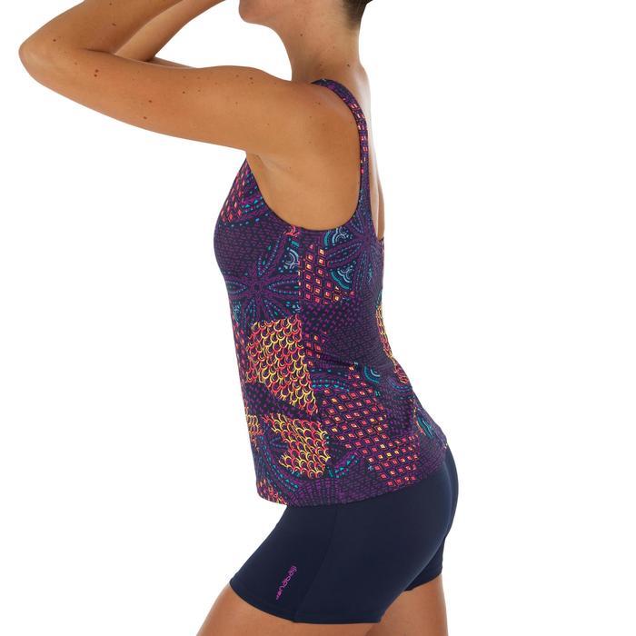 Bañador de natación una pieza tankini mujer Loran eve violeta