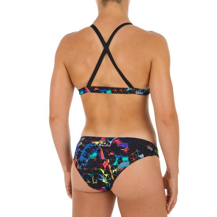 Bas de maillot de bain de natation femme Jana noir rocki