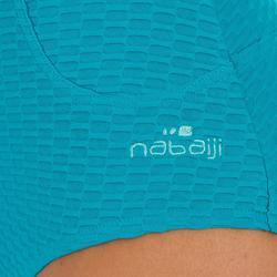 Bañador Moldeador Natación Piscina Nabaiji Kaip Mujer Efecto Vientre Plano Azul