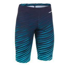 男童及膝短褲500 FIRST ALLTAG橘色藍色