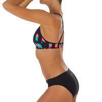 Bas de maillot de bain de natation femme Vega noir