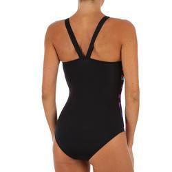 Bañador de natación una pieza mujer Vega Typ negro