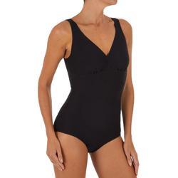 Bañador de natación moldeador una pieza mujer Kaipearl New negro