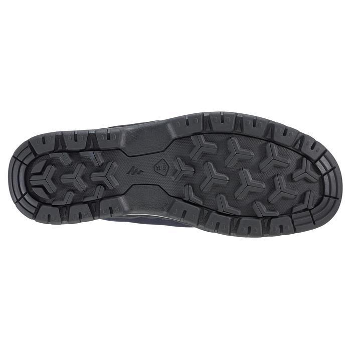 Waterdichte schoenen voor wandelen in de natuur NH150 blauw heren