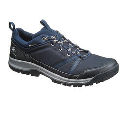 WATERPROOF NATURE HIKING SHOES - NH150 - BLUE - MEN