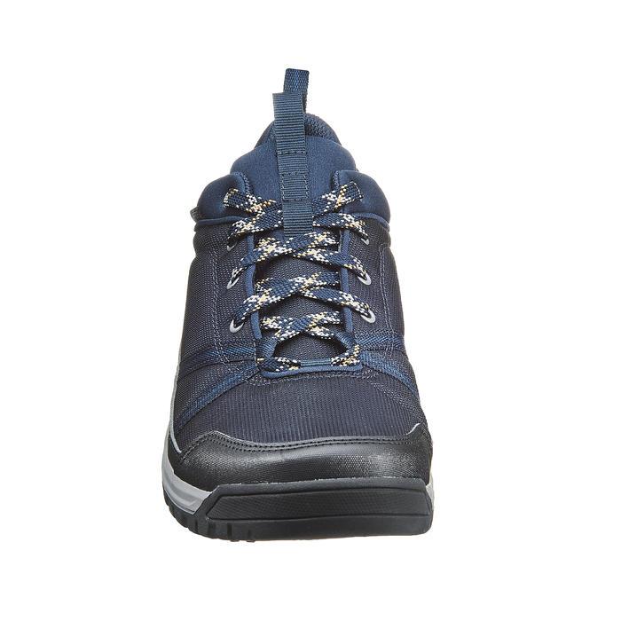Wanderschuhe Naturwandern NH150 WP wasserdicht Herren blau