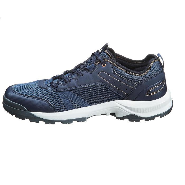 Schoenen voor wandelen in de natuur NH100 Fresh donkerblauw heren