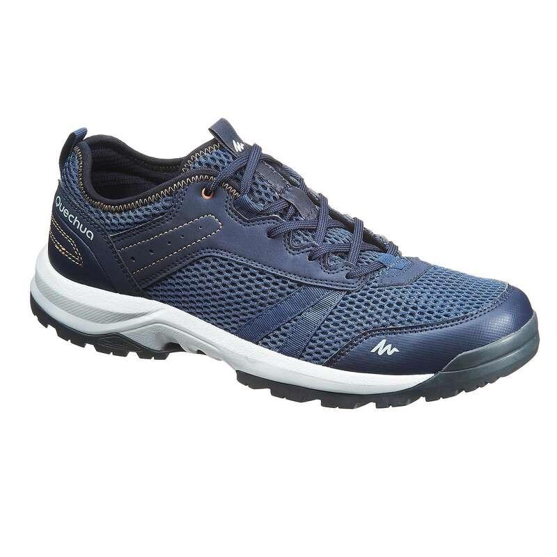 SANDALI UOMO Sport di Montagna - Scarpe uomo NH100 FRESH blu QUECHUA - Materiale Trekking