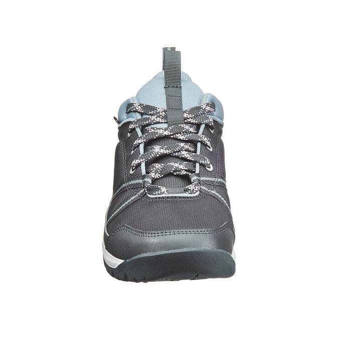 Wanderschuhe NH150 Protect Damen grau für Naturwanderungen