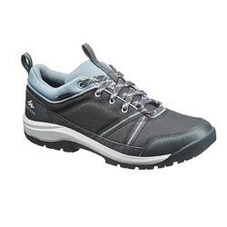 防水郊野遠足鞋 - NH150 - 炭灰色 - 女裝
