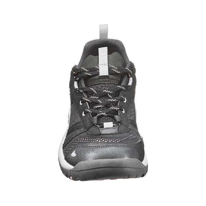 Wandelschoenen voor dames NH500 Fresh zwart