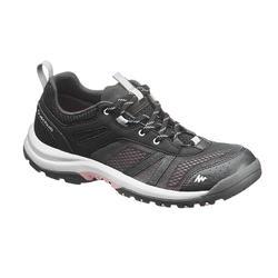 Chaussure de randonnée nature NH500 Fresh noir femme