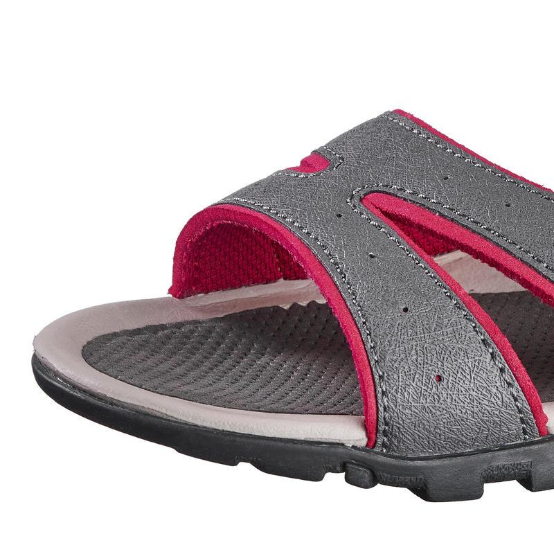 Women's Sandals NH100 - Grey & Pink